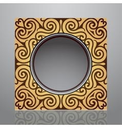 Orient style frame vector