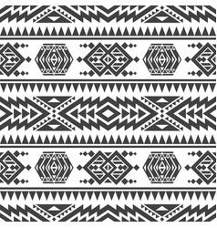 American aztec seamless texture native vector