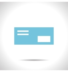 mail icon Epsflat color0 vector image vector image