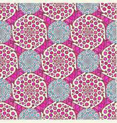 ornamental arabic pattern abstract background for vector image vector image