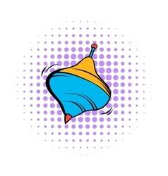 Whirligig comics icon vector image vector image