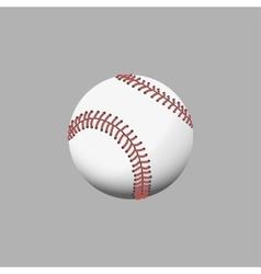 Multi colors baseball vector image