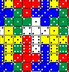 Dice Pattern vector