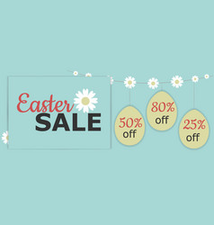 easter-sale3 vector image vector image