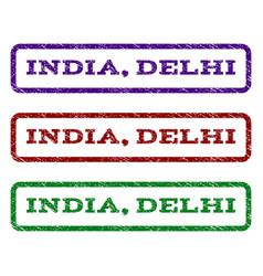 India delhi watermark stamp vector