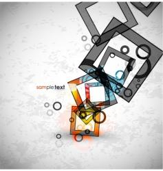 Modern elements background vector