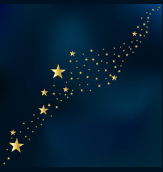 stars on a sky background vector image
