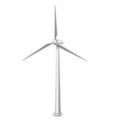 wind turbines alternative energy resource vector image