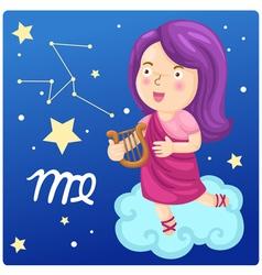 Zodiac signs -virgo vector
