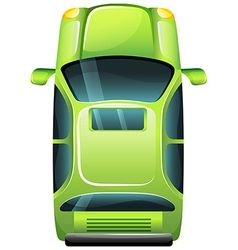 A green vehicle vector image vector image