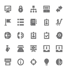 Finance icons 5 vector