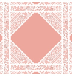 Lacy vintage background vector