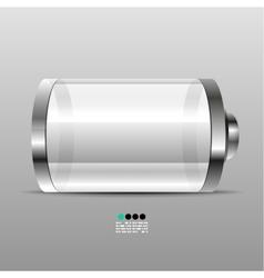 Battery icon desgin template vector image
