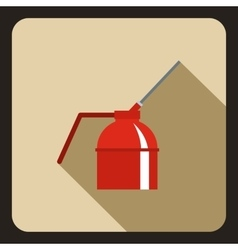 Can of spray paint icon flat style vector image