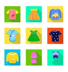 design fashion and garment logo set of vector image