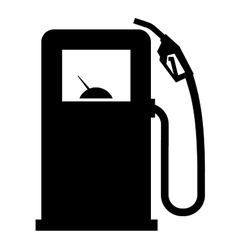 Gasoline filling station logo design vector