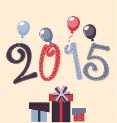 newborn on 2015 vector image