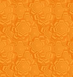 Orange seamless polygon pattern background vector