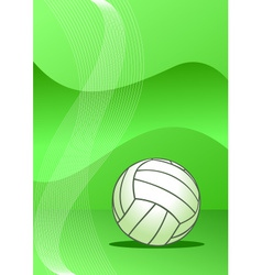 Volleyball background vector