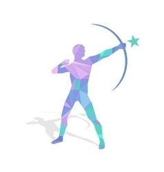 Abstract Bowman vector image vector image