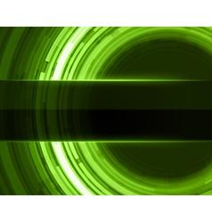 Abstract technology circle digital vector image