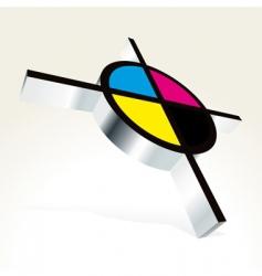 CMYK printing vector