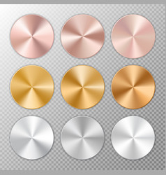 conical metal gradients vector image