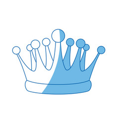 crown kindom royal luxury icon vector image