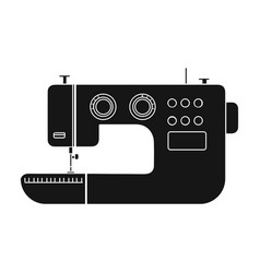 Electric sewing machine sewing and equipment vector