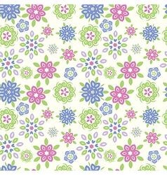 magic summer flower seamless vector image