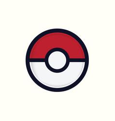 Pokemon go logo icon vector