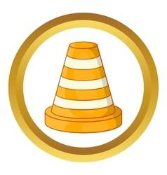 Road repair sign icon vector image