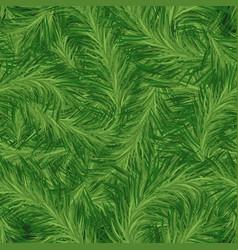 Seamless pine pattern vector