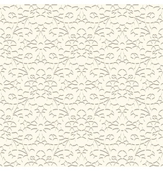 White pattern vector image