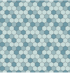 Seamless pattern with hexagon shapes vector