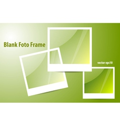 Blank of Photo Frame vector image