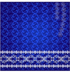 lace design background vector image vector image