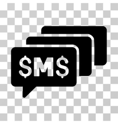 Sms messages icon vector