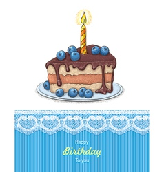 HB card vector image vector image