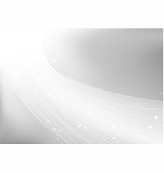 abstract soft light on gray background vector image