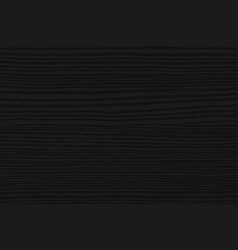 black wood texture background dark wooden texture vector image