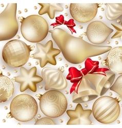 Christmas decoration EPS 10 vector image