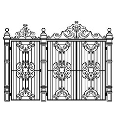 Gates and wicket vector