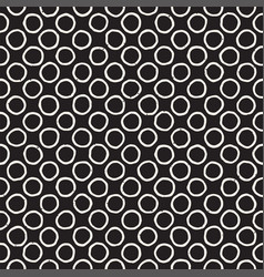 Hand drawn black and white ink abstract seamless vector