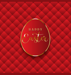 Luxurious easter egg background vector