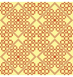 original seamless pattern red vector image