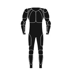 Outfitting for cyclists full body protection vector