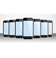 Set of generic Smartphones device useful for app vector
