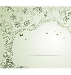 Sketch of a tree vector