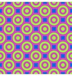 Polka dot geometric seamless pattern 4408 vector image vector image